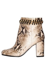 Kg By Kurt Geiger 80Mm Snake Embossed Faux Leather Boots