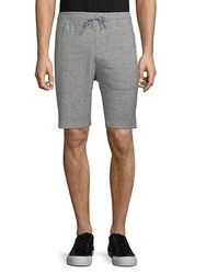 Hyden Yoo Classic Heathered Shorts Black