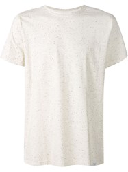 Norse Projects 'Niels' Boucle T Shirt White