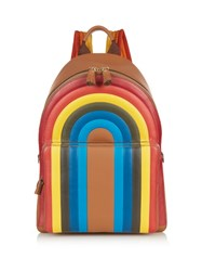 Anya Hindmarch Rainbow Leather Backpack