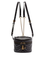 Gucci Gg Marmont Mini Leather Backpack Black
