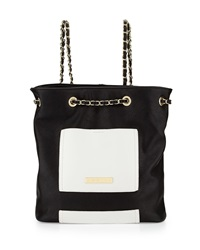 Catherine Catherine Malandrino Olivia Chain Backpack Black Bone