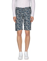 Rrd Trousers Bermuda Shorts Men Slate Blue