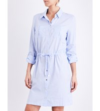 Heidi Klein St. Barths Cotton Shirt Dress Chambray