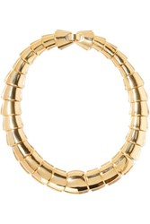 Kenneth Jay Lane Gold Tone Necklace