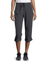 Marc New York Sporty Cropped Relax Fit Pants Avocado