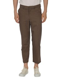 The Editor Casual Pants Dark Brown
