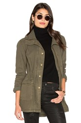 Velvet By Graham And Spencer Alene Parka Jacket Olive