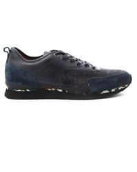 Paul And Joe Paysley Two Fabric Blue Sneakers
