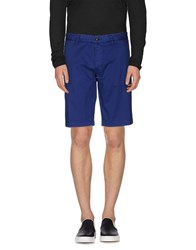 Blauer Trousers Bermuda Shorts Men Blue
