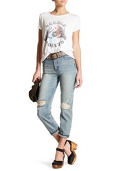 Free People Destroyed By Syxx Jean Blue