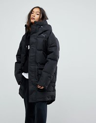 Puma Oversize Padded Coat Black
