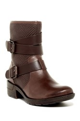 Sofft Aldina Wraparound Strap Boot Brown