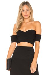 Finders Keepers Oblivion Bodice Top Black