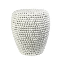 Pols Potten Dot Stool White