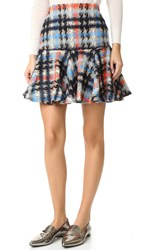 Milly Flounce Skirt Multi