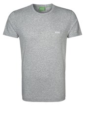 Hugo Boss Green Modern Fit Basic Tshirt Light Pastel Grey Light Grey