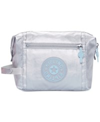 Kipling Leslie Cosmetic Bag Platinum Metallic