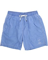 Hackett Blue Number 1 Volley Swim Shorts