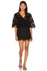 Nightcap Seashell Siren Mini Dress Black