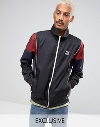 Puma Vintage Tracksuit Jacket In Black Exclusive To Asos Black