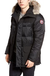 Canada Goose Men's Callaghan Genuine Coyote Fur Trim Slim Fit Down Parka