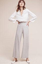 Anthropologie Audrey Ultra High Rise Petite Trousers Neutral
