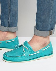 Timberland Classic Boat Shoes Green