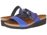 Naot Footwear Kimberly Royal Blue Leather Purple Leather Navy Patent Leather Women's Sandals