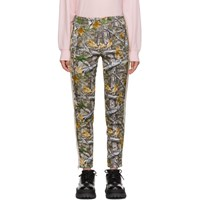 Palm Angels Multicolor Wood Camo Classic Track Pants
