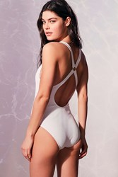 Out From Under Cutout Ring One Piece Swimsuit White