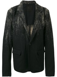Lost And Found Ria Dunn 'Needle' Oversized Jacket Black