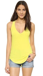 Feel The Piece Lilith V Neck Ribbed Tank Cactus Flower