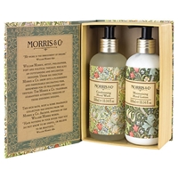 Heathcote And Ivory Morris And Co Golden Lily Hand Wash And Hand Lotion Duo