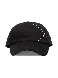 Raf Simons Strange Days Baseball Cap Black