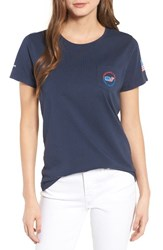 Vineyard Vines Women's Usa All Day Graphic Pocket Tee