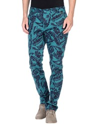 Eleven Paris Trousers Casual Trousers Men Turquoise