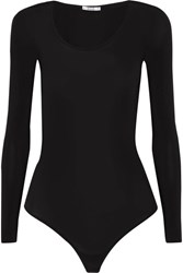 Wolford Buenos Aires Stretch Jersey Bodysuit Black