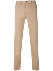 Re Hash Skinny Fit Trousers Nude And Neutrals