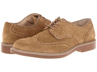 Bass Pembroke Taupe Men's Lace Up Wing Tip Shoes