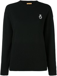 Peter Jensen Rabbit Jumper Black