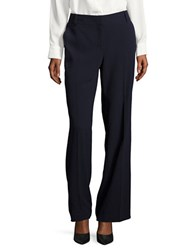 Karl Lagerfeld Refined Stretch Suiting Trousers Marine