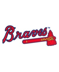 Rico Industries Atlanta Braves Static Cling Decal Team Color