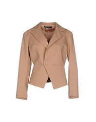 Compagnia Italiana Suits And Jackets Blazers Women Sand