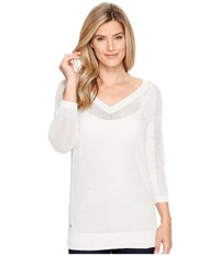 Lole Mable Sweater White Heather Women's Sweater