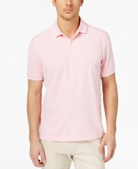 Club Room Men's Performance Polo Created For Macy's Sorbet Pink