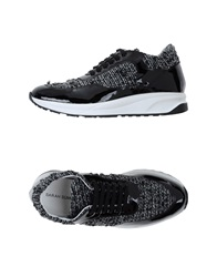 Sarah Summer Low Tops And Trainers Black