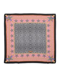 Just Cavalli Square Scarves Pastel Pink