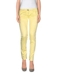 Datch Trousers Casual Trousers Women Yellow
