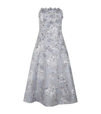 Ted Baker Sareh Oriental Blossom Strapless Dress Female Grey